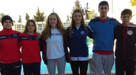 Επιτυχίες αθλητών τεχνικής κολύμβησης του Ολυμπιακού Βόλου