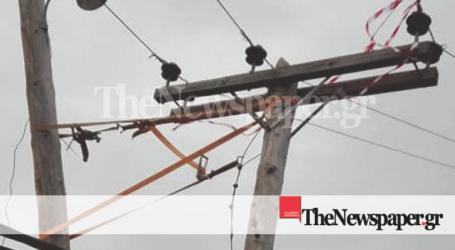ΤΩΡΑ: Χωρίς ρεύμα η Βιομηχανική Περιοχή Βόλου λόγω βλάβης [εικόνες]