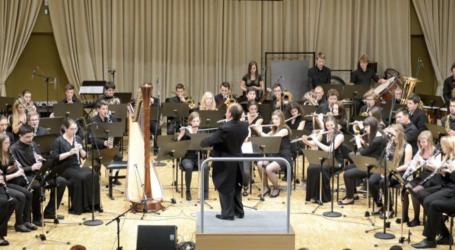 Συναυλία της ορχήστρας πνευστών του Conservatoire μουσικής μπαλέτου της Λιουμπλιάνας στον Βόλο
