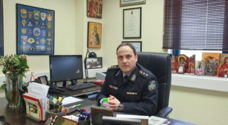 Ανέλαβε καθήκοντα και επισήμως ο Β. Καραίσκος στην Αστυν. Διεύθυνση Μαγνησίας