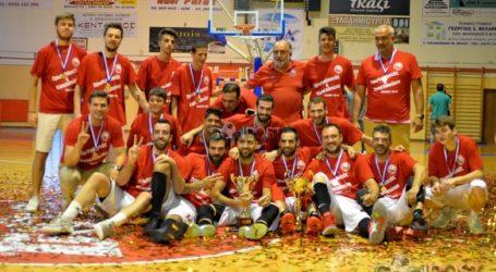Βραβεύτηκε η  ομάδα μπάσκετ του Ολυμπιακού Βόλου
