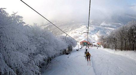 Ανοιχτό το Σαββατοκύριακομε φρέσκο χιόνιτο Χιονοδρομικό Κέντρο Πηλίου