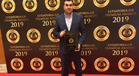 Χρυσό Βραβείο για το Κρεοπωλείο – Μαγειρείο Μυλωνάς στα «Estiatoria.gr Premium Awards 2019»