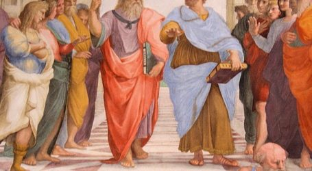 Ομιλία του καθηγητή Φιλοσοφίας Βασίλη Κάλφα για τον Πλάτωνα και τον Αριστοτέλη