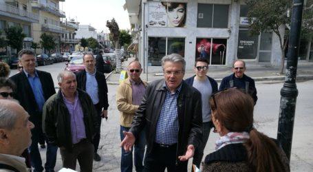 Επίσκεψη του Απόστολου Παπαδούλη στη Ν. Αγχίαλο
