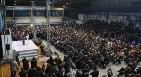 Πολιτική εκδήλωση του Μ. Σαλμά για τη συμπλήρωση 20 χρόνων κοινοβουλευτικής του θητείας