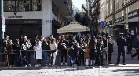 25η Μαρτίου: Στρατιωτική παρέλαση στην Αθήνα