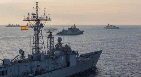 Ο ελληνικός κι ο συμμαχικός στόλος του ΝΑΤΟ στο Μυρτώο Πέλαγος