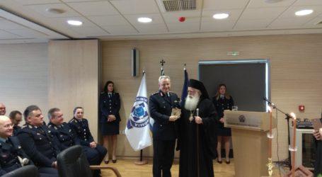 Ο Mητροπολίτης Ιγνάτιος στην τελετή ανάληψης καθηκόντων του νέου Αστυνομικού Διευθυντή