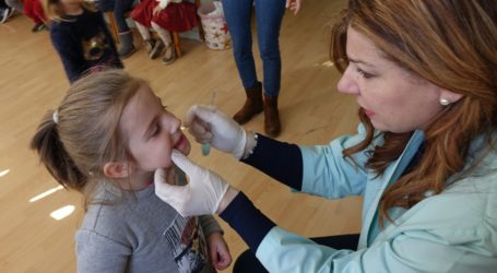 Οδοντιατρικός έλεγχος στον Βρεφονηπιακό Σταθμό της Μητρόπολης Δημητριάδος