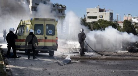 Σφοδρή έκρηξη στη λεωφόρο Βουλιαγμένης