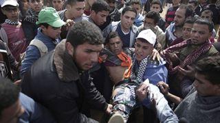 Δεκαεπτά Παλαιστίνιοι τραυματίστηκαν από πυρά ισραηλινών στρατωτών