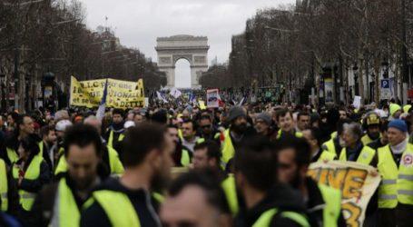 Τα «κίτρινα γιλέκα» στους δρόμους για 16η εβδομάδα