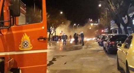 Επίθεση με μολότοφ σε διμοιρία των ΜΑΤ έξω από το τουρκικό προξενείο