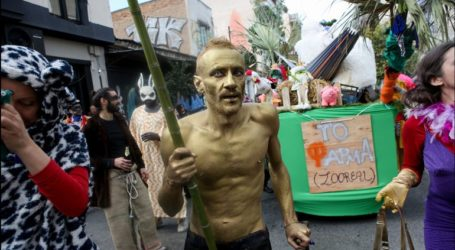 Αθήνα:Σε εξέλιξη το καρναβάλι στο Μεταξουργείο
