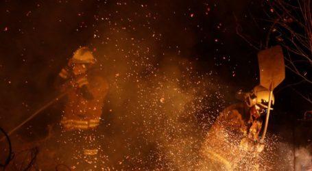 Μαίνονται οι πυρκαγιές στον βορρά που προκάλεσαν οι υψηλές θερμοκρασίες