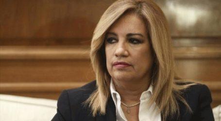 «Η κ. Δούρου οφείλει να παραιτηθεί μετά τις σημερινές διώξεις»