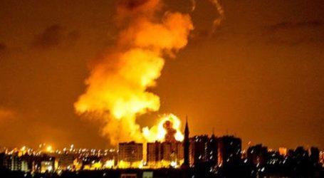 Ισραηλινά μαχητικά έπληξαν στρατόπεδο εκπαίδευσης μελών της Χαμάς