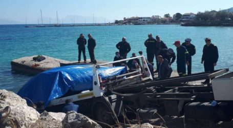 Ανασύρθηκε νεκρός από το βυθισμένο αμάξι του αγνοούμενος στη Λευκάδα