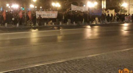 Συγκέντρωση και πορεία στο κέντρο της Θεσσαλονίκης για την Ημέρα της Γυναίκας
