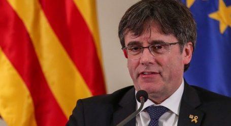 Ο Κάρλες Πουτζντεμόν επικεφαλής της λίστας του αυτονομιστικού Junts per Catalunya στις ευρωεκλογές