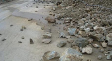 Νέες κατολισθήσεις στην παλαιά Εθνική Οδό Χανίων
