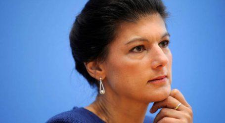 Η Σάρα Βάγκενκνεχτ δεν θα διεκδικήσει την επανεκλογή της ως επικεφαλής του Die Linke