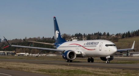 H Aeroméxico αναστέλλει τις πτήσεις των Boeing 737 MAX 8