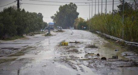 Εκταμιεύονται 5 εκατ. ευρώ για την αποκατάσταση ζημιών στο οδικό δίκτυο