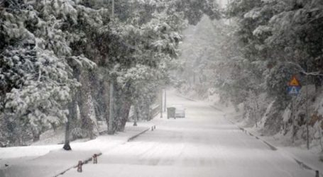 Στα λευκά οι ορεινές και ημιορεινές περιοχές στη Δυτική Θεσσαλία