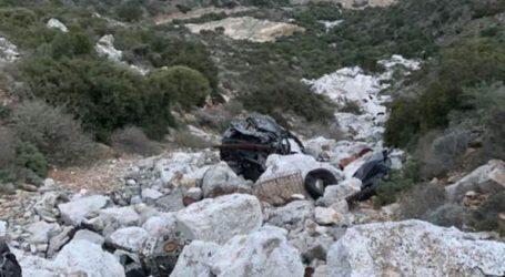 Σταθερή η κατάσταση της 47χρονης που έπεσε σε γκρεμό με το όχημά της