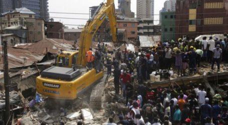 Τουλάχιστον οκτώ νεκροί από την κατάρρευση κτηρίου στο Λάγκος