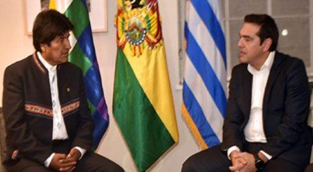 Συνάντηση Τσίπρα με τον πρόεδρο της Βολιβίας