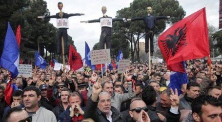 Διαδηλώσεις κατά της κυβέρνησης Ράμα στην Αλβανία