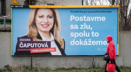 Η Ζουζάνα Τσαπούτοβα κέρδισε με μεγάλη διαφορά στον πρώτο γύρο των προεδρικών εκλογών