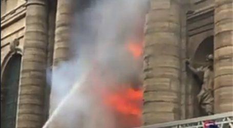 Μικρής έκτασης πυρκαγιά στην εκκλησία του Αγίου Σουλπικίου