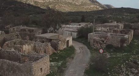 Το χωριό «φάντασμα» της Σητείας: Υπέροχες εικόνες από ψηλά