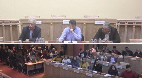 Ανοιχτή συζήτηση Κ. Γαβρόγλου με μαθητές, εκπαιδευτικούς και γονείς του Α' Λυκείου Γλυφάδας