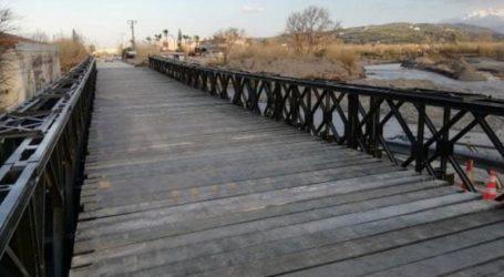 Προσωρινή διακοπή της κυκλοφορίας στη γέφυρα Πλατανιά