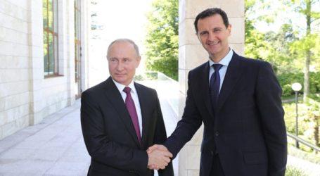 Επιστολή Πούτιν στον Άσαντ – Στη Δαμασκό ο Ρώσος υπουργός Άμυνας