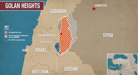 Ο Τραμπ προαναγγέλλει την αναγνώριση της κυριαρχίας του Ισραήλ στα συριακά Υψίπεδα του Γκολάν