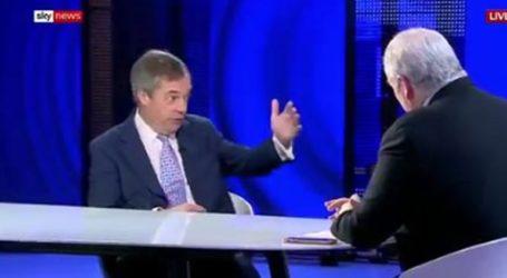 «Θα αναλάβω επικεφαλής του κόμματος Brexit αν συμμετάσχει το Ηνωμένο Βασίλειο στις ευρωεκλογές»