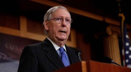 Ο ηγέτης των Ρεπουμπλικανών στη Γερουσία καλωσορίζει την ολοκλήρωση της έκθεσης Μιούλερ