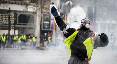 Δυνάμεις του γαλλικού στρατού συνδράμουν την αστυνομία στην αντιμετώπιση των διαμαρτυριών των «κίτρινων γιλέκων»