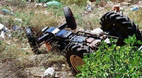 Νεκρός 52χρονος αγρότης που καταπλακώθηκε από το τρακτέρ του
