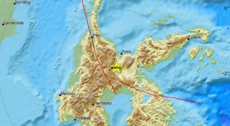 Σεισμική δόνηση 5,4R στο νησί Σουλαουέζι
