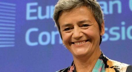 Η Δανή Επίτροπος που τα έβαλε με τα μονοπώλια είναι η πιθανή διάδοχος του Γιούνκερ