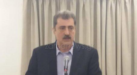 Από τα Σφακιά, τον τόπο που με γέννησε, δηλώνω πως θα είμαι υποψήφιος με το ΣΥΡΙΖΑ στα Χανιά