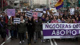 Χιλιάδες Ισπανοί διαδηλώνουν στη Μαδρίτη κατά των αμβλώσεων