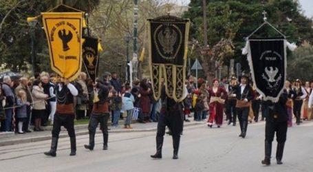 Άγημα 40 ένστολων Ποντίων στην κορυφή της παρέλασης στη Θεσσαλονίκη